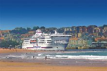 Pont-Aven, cruise ferry in Santander