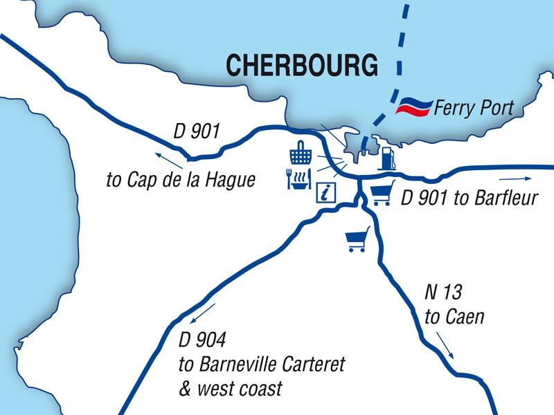 Cherbourg port guide brittany ferries - Bureau de change cherbourg ...