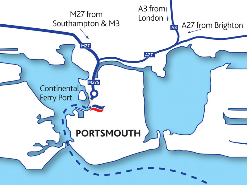 portsmouth port portsmouth ferry port map portsmouth port map
