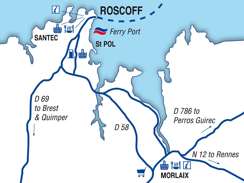 roscoff port guide brittany ferries. Black Bedroom Furniture Sets. Home Design Ideas