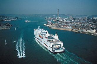 Route network summary brittany ferries