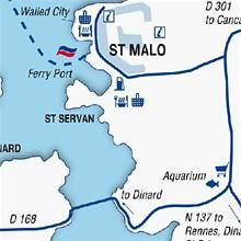 Portsmouth To Le Havre Ferry >> St Malo port guide - Brittany Ferries