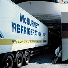 Refrigerated freight load