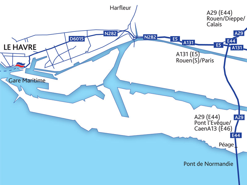 Portsmouth To Le Havre >> Le Havre Port Guide Brittany Ferries