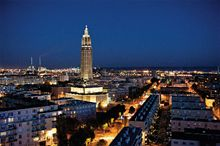 Le Havre at night - Copyright: H.Maunder